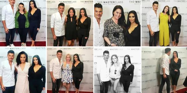19.08.17 : Kim & Mario son maquilleur étaient à New York au Make Up Masterclass. Des photos avec les fans sont disponibles.