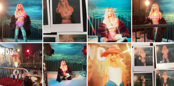 Kim a réalisé  un photoshoot pour CR Fashion Book en Hommage à la rappeuse Lil' Kim et l'actrice Pamela Anderson !