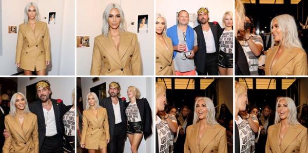 06-09-17 : Vivienne Westwood Exhibition : Kim est de nouveau blonde pour sa nouvelle apparition à une exposition ! Je la trouve sublime. A chaque sortie, elle est de plus en plus belle !