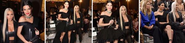 08.09.17 | Kim a été apperçue à New York quittant son hôtel tôt le matin. Le soir elle s'est rendue au Daily Front Row's Fashion Media Awards.