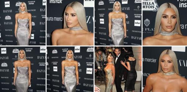 08.09.17 | La sublime Kim était invitée à une soirée organisé par Harper's BAZAAR ! Elle est juste comme d'habitude, et à chaque sortie, incroyablement magnifique. Cette femme est parfaite !
