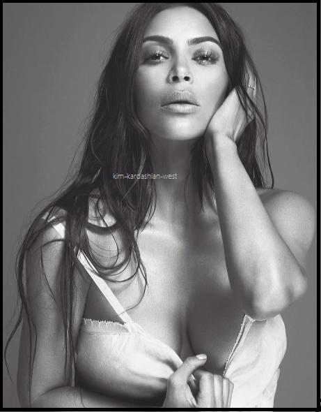 Kim sortira son nouveau parfum prochainement, pour l'occasion une photo promotionnelle a été réalisée !