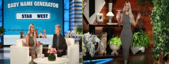 14 novembre :  Journée chargée pour Kim qui a été invitée au show d'Ellen Degeneres, puis le soir elle a organisé un diner pour fêter la sortie de son parfum le lendemain.