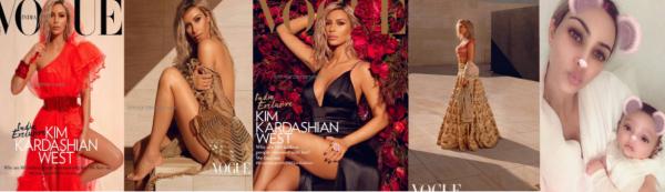 Voici les photos du shoot pour le Vogue india, ainsi qu'une photo de Chicago west née il y a quelques semaines ! (cliquer sur l'image pour voir en plus gros ! )