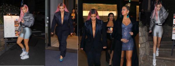 Quelques photos lors des sorties de Kim à Tokyo (parfois accompagnées de ses s½urs). Dans l'ensemble, j'aime bien ses looks, sauf les cheveux roses.