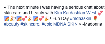 Kim, égérie de MDNA Skin ?