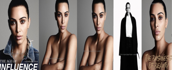 Voici le photoshoot de Kim pour The Business of fashion