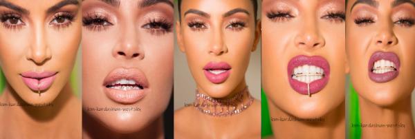 Kim dévoilé de nouveaux lipsticks avec plusieurs colories, pour l'occasion, un nouveau photoshoot vient de sortir, et c'est juste magnifique !
