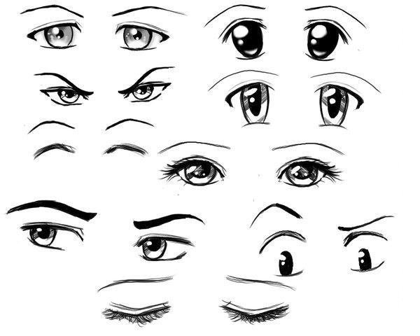 comment faire les yeux d'un manga chibi animer