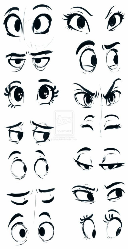 comment faire les yeux d'un manga chibi animer - bienvenue ... Cute Cartoon Characters With Big Eyes To Draw