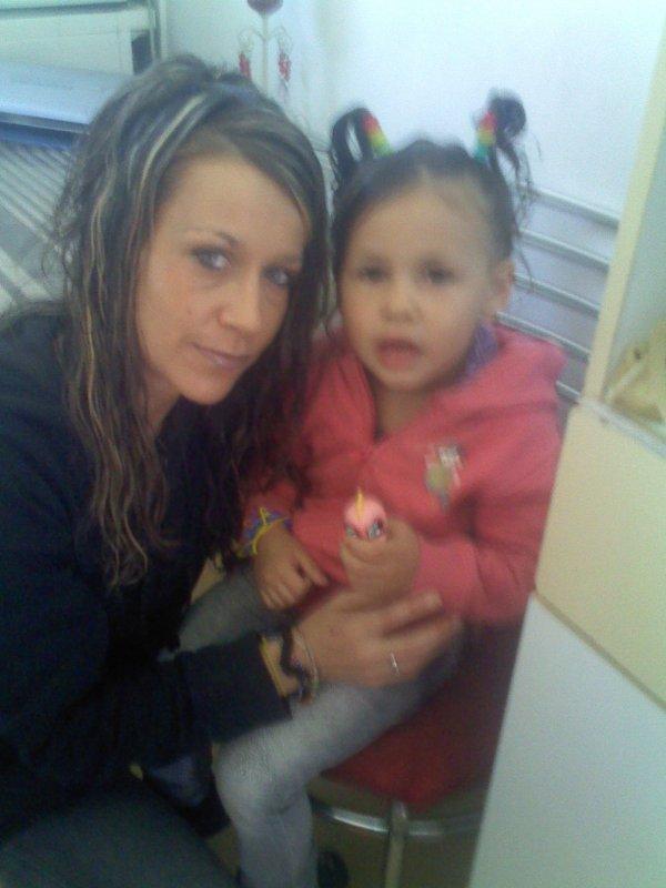 moi et ma fille trop belle