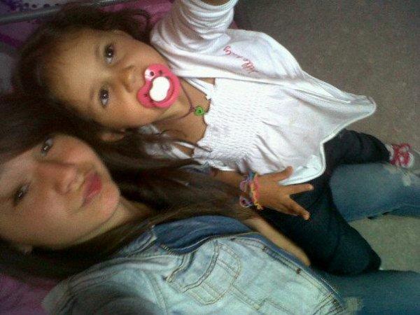 ma niece oceane et ma fille shaines trop belle toute les deux je vous aime <3