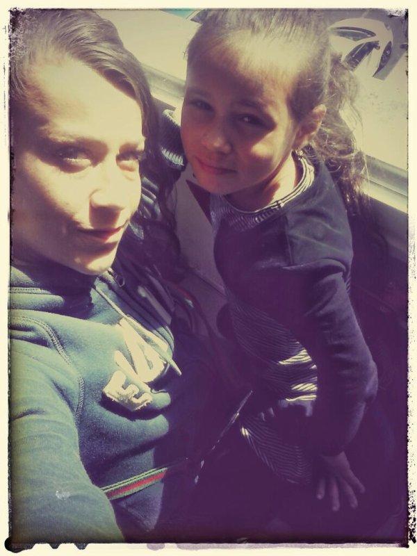 ma fille et moii
