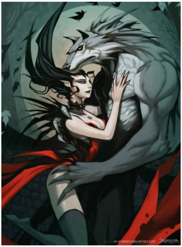 lycan et vampire quand l'amour et possible :3