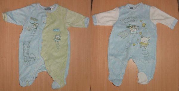 Lot Pyjamas  x2 (3mois) >>>>> 6e les 2