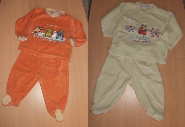 Pyjama (6mois)   Ensemble >>>>>5e les 2 ou 3e l'unité<<<<<