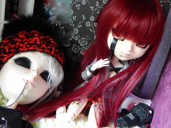 """Custom de Kenshin, Nekomi et Jin au """"scotch noir"""""""