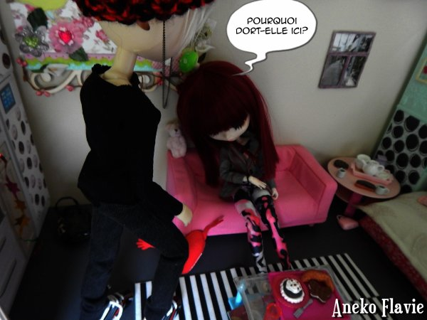 Photostory Dolls ° En rentrant du travail (1/5)