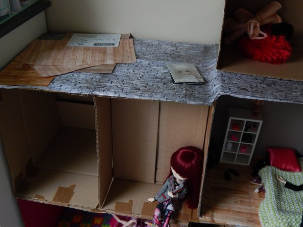Construction d'une nouvelle Dollhouse