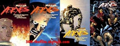 Le comics Xerxes enfin sorti aux USA !