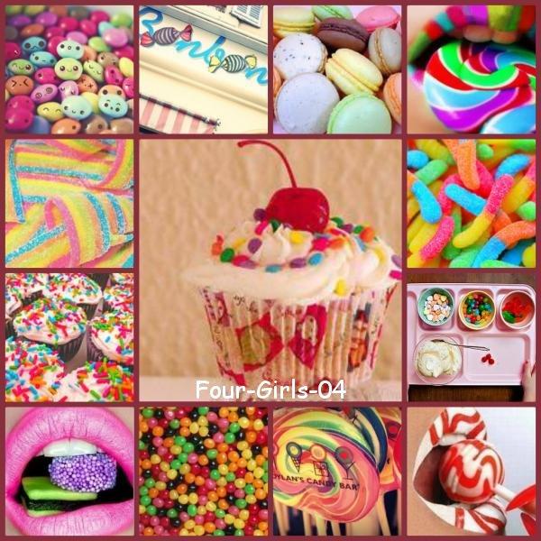 Mille bonbons, mille exquises douceurs...