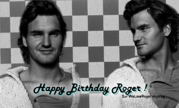 Happy birthday My lovely Roger!