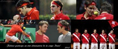coupe Davis ~suisse VS pays-bas~ tour éliminatoire