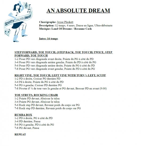 AN ABSOLUTE DREAM par Rosanne Cash