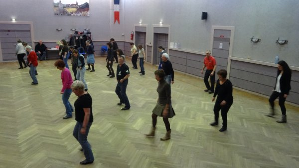 nos danseurs du cours du 22 janvier 2015