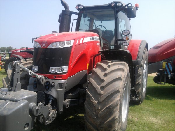 mf 8680 au salon de l'herbe 2012