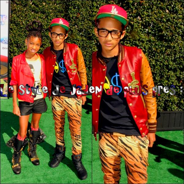 PLASHBACKJaden et sa Soeur Willow se sont rendus aux BET Awards 27 Juin 2011 !