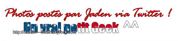 Petit article ; Jaden & Ces jeux !