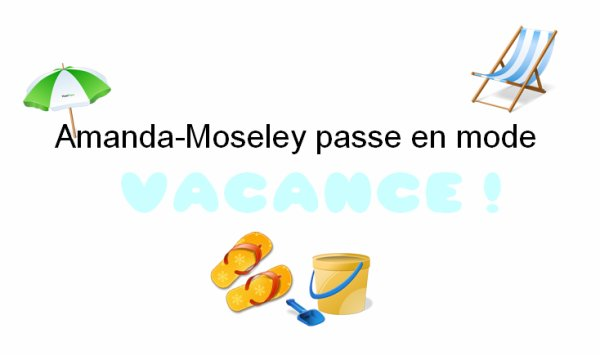 . .  The voice + cadeau d'une fan + Twitter time + www.Amanda-Moseley.skyrock.com passe en mode vacance (:  ENJOY . .