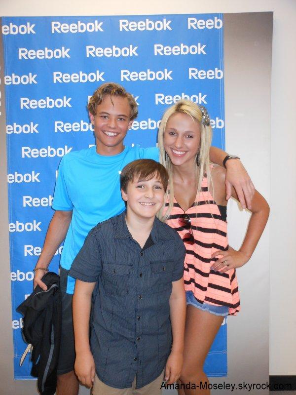 . .  Mandy avec Christian Fortune et son petit frère + Petit jeu (: . .