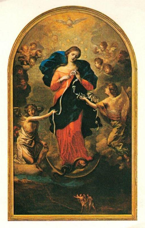 Marie qui défait les n½uds