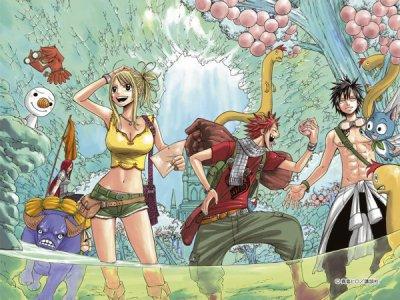 Un Manga qui fait Rire et Rêver : Fairy Tail