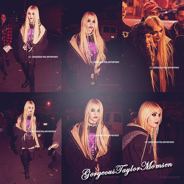 Le 28 octobre 2011 :Taylor a été aperçue parlant à ses fans à Montréal au Canada.Elle est magnifique !