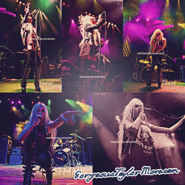 Le 1er novembre 2011 : Les Reckless performent à Atlantic City au House of Blues.