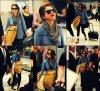 Selena A L'aeroport pour aller a New York