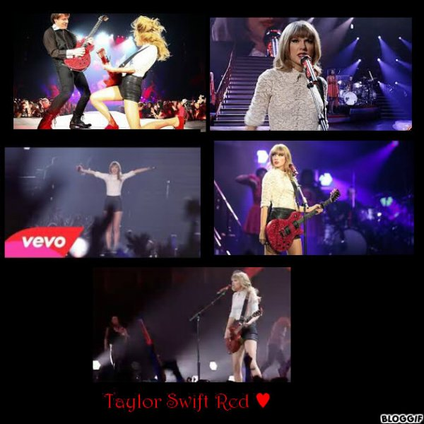 Taylor Swift Red ♥ Paroles ♥!