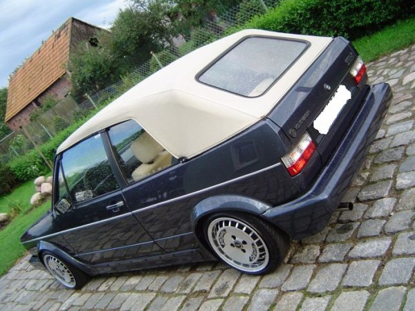 GOLF MK1 CAB TOP FINISH