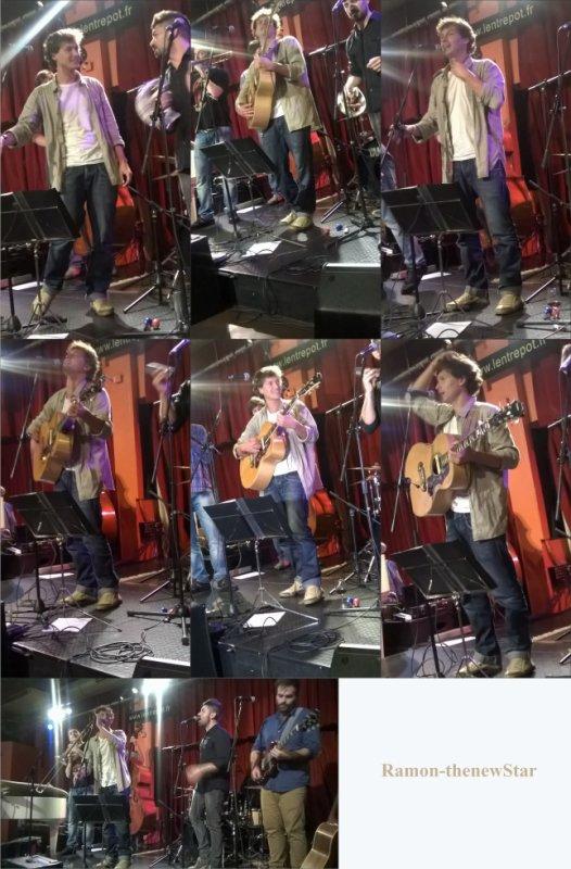 Concert de Ramón à l'Entrepot (Paris 14ème) le 14 Novembre 2014