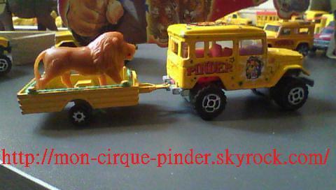 Nouveauté Maquette Pinder novembre 2011