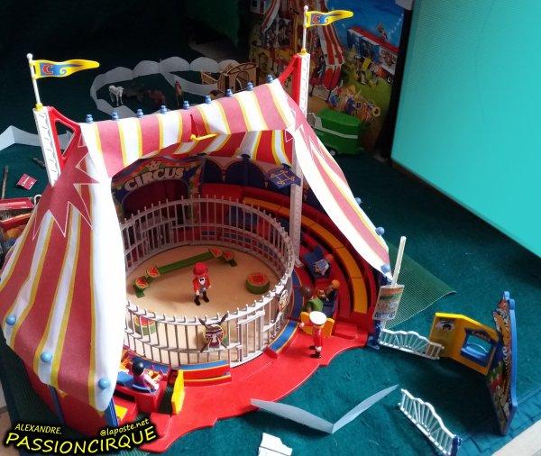 Maquette cirque playmobil 2017 2 alexandre passion cirque - Cirque playmobil ...