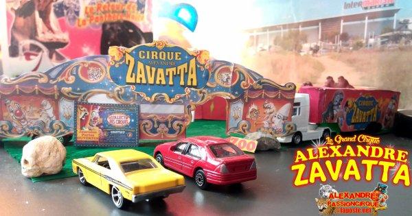 Dio Maquette Surprise : Le Cirque Alexandre Zavatta