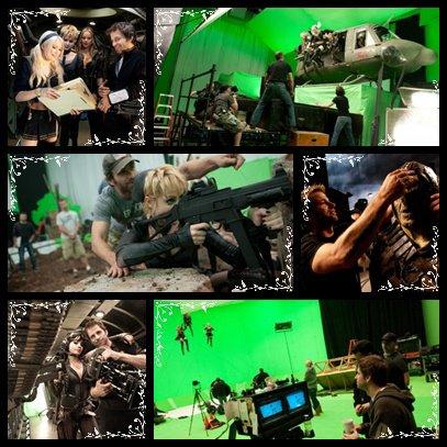 Photo du tournage de Sucker Punch