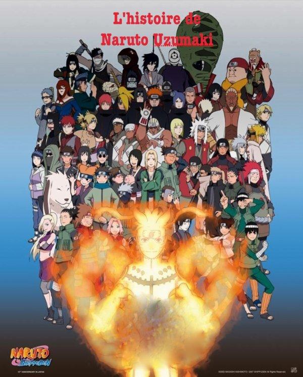 Première Fan-Fiction : L'histoire de Naruto