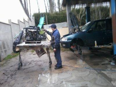 Préparation de la carrosserie