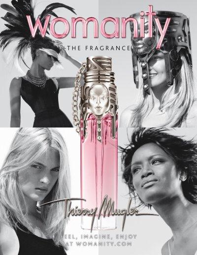 Womanity, le nouveau parfum de Thierry Mugler