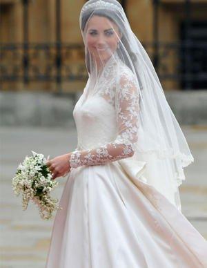 La tenue de mariée de Catherine Middleton